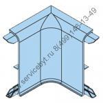 Внутренний угол для алюминиевого плинтуса PKGC 80.