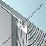 Торцевой профиль для плитки из хромированной латуни