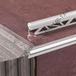 Профиль алюминиевый анодиолванный окантовочный